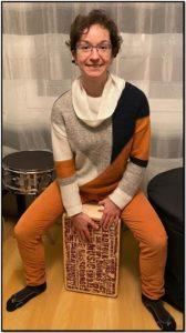 Audrey de Cajon&Drum